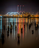 """""""India Point at Night"""" - Cropped Version<br /> March 1st, 2013 at 9:04PM<br /> India Point Park<br /> Providence, RI"""