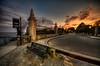 """Just After Sunset at Newport Cliff Walks""<br /> June 30th, 2012<br /> 8:31PM<br /> Newport, RI"